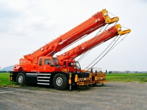 roughterrain crane